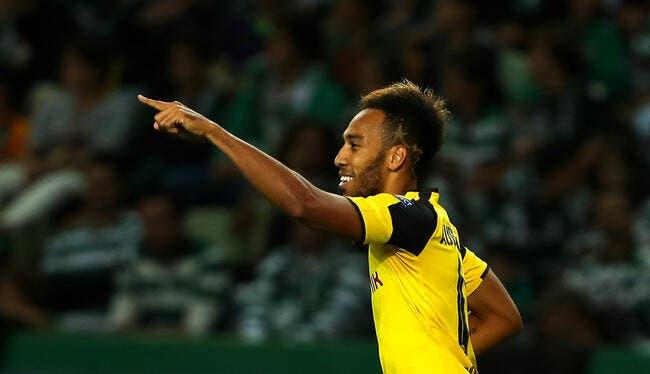 Hambourg - Dortmund : 2-5 avec un quadruplé d'Aubameyang
