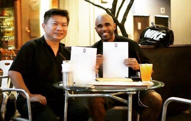 Mercato : Sinama Pongolle prolonge de 2 ans en Thaïlande