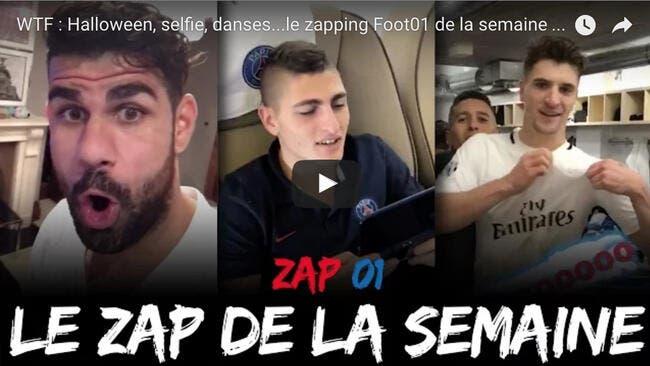 Youtube Foot01 : Le zapping WTF de la semaine - Episode 1