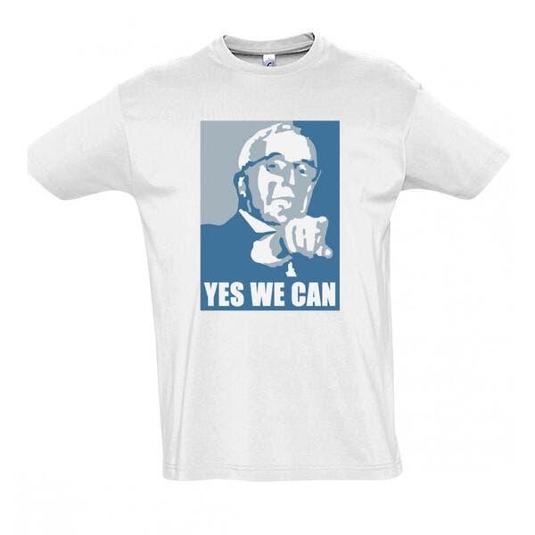 OM: Le tee-shirt «Yes we can» de McCourt est sorti…