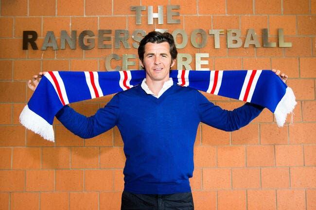 Ecosse : Joey Barton et les Rangers divorcent à l'amiable
