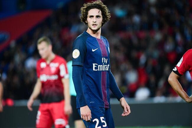 PSG : Rabiot confie son désir de «signerà vie» au Paris SG