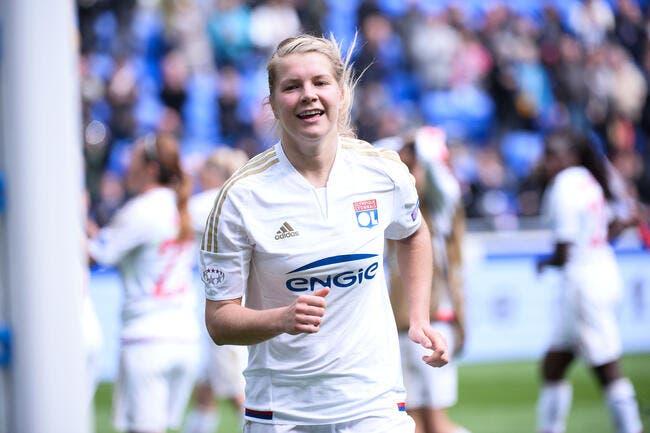 LdC féminine : OL - Zurich : 8-0