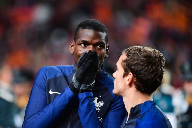 Man United: Griezmann l'avoue, il rêve de rejoindre Pogba