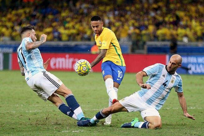 CDM 2018: Le Brésil fait voler l'Argentine en éclats