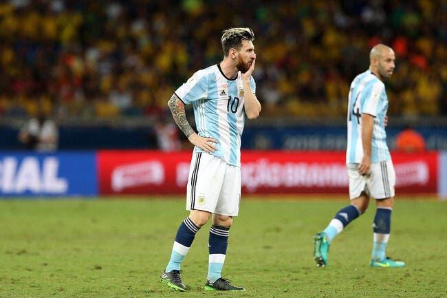 Messi ne mâche pas ses mots après la déroute de l'Argentine