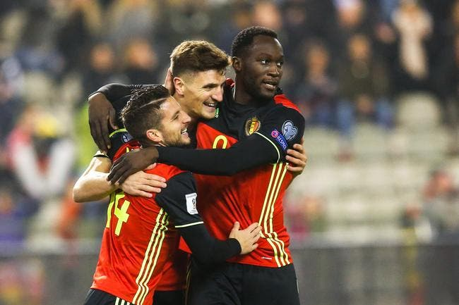 CdM 2018, Belgique - Estonie : 8-1