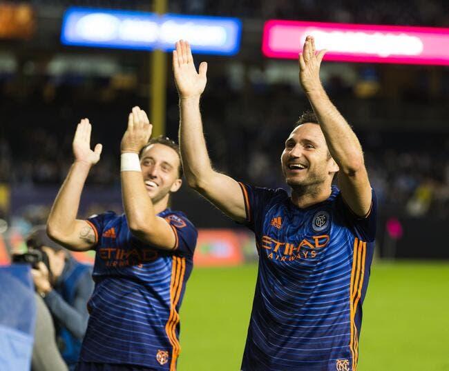 MLS : Lampard annonce son départ de New York !