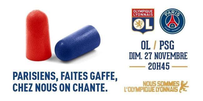 OL-PSG : Lyon se moque de Paris et de son public pour vendre des tickets