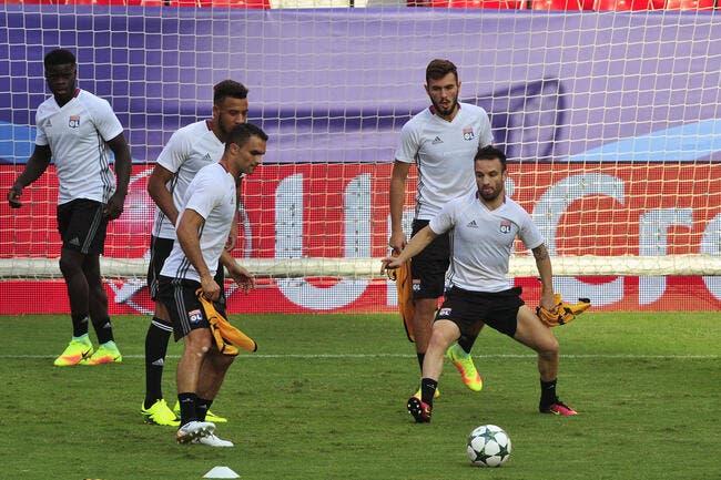 OL : Valbuena, Rybus et Perrin sont à l'entraînement