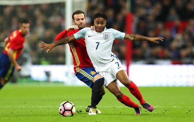Angleterre - Espagne 2-2