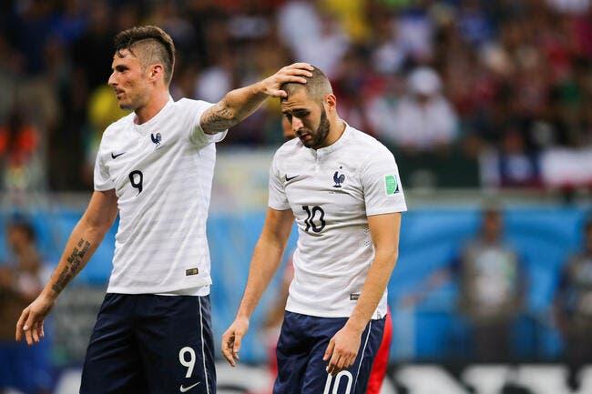 France : Giroud et Gameiro meilleurs que Benzema ? Nasri s'étouffe !