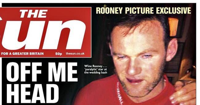 Ang : Rooney s'excuse pour des photos très dérangeantes