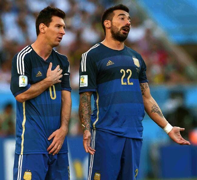 Arg : Lavezzi accusé d'avoir fumé de la drogue, Messi se met en pétard