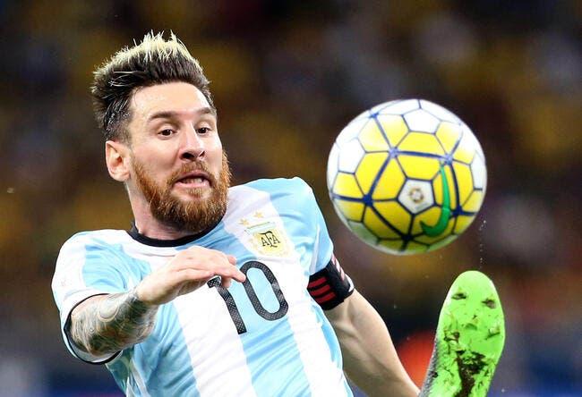 CdM : Messi relance l'Argentine