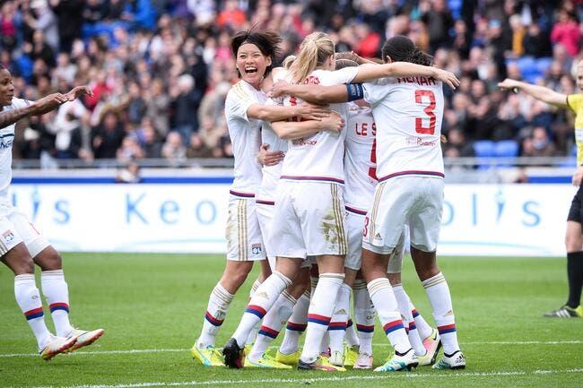 LdC Féminine : FC Zürich - OL : 0-9