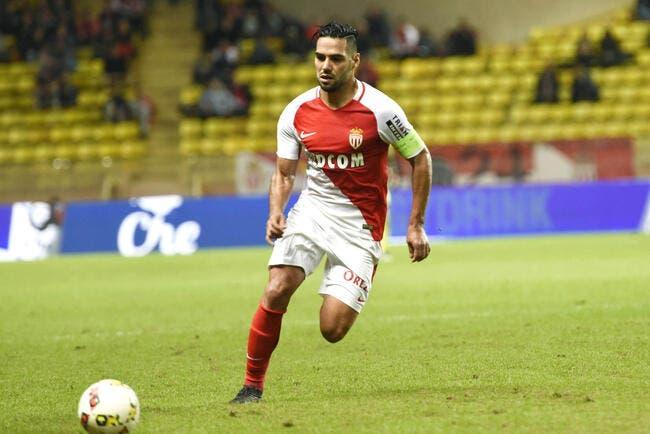 Monaco : Falcao incertain, Dirar et Touré forfaits contre Lorient