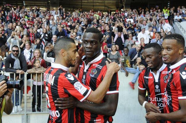 Nice: Balotelli nomme les deux Aiglons les plus redoutables
