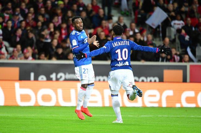 Lyon gagne en jouant… à se faire peur