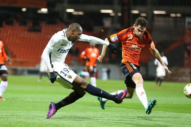 Monaco balaye Lorient en un éclair