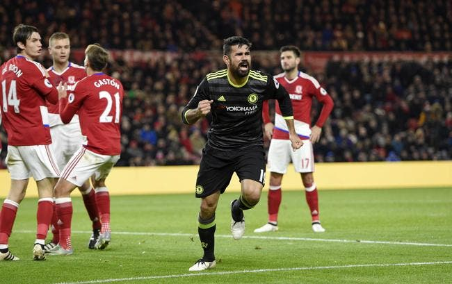 Middlesbrough – Chelsea 0-1