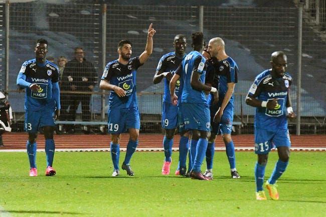 Brest - Niort 2-3