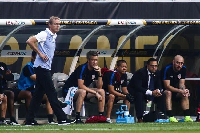 Klinsmann viré par les Etats-Unis