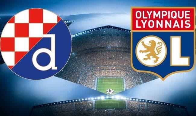Dinamo Zagreb - OL : Les compos (20h45 sur BeInSports 2)