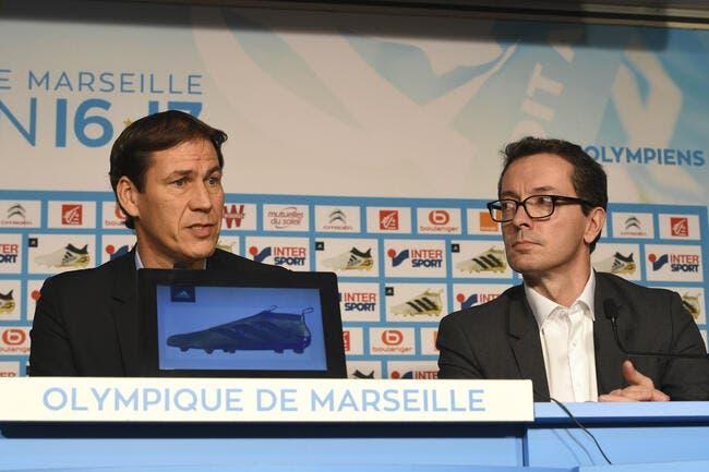 OM : Rudi Garcia l'annonce, il veut un joueur par ligne au mercato !