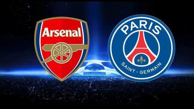 Arsenal - PSG : Les compos (20h45 sur Canal+)