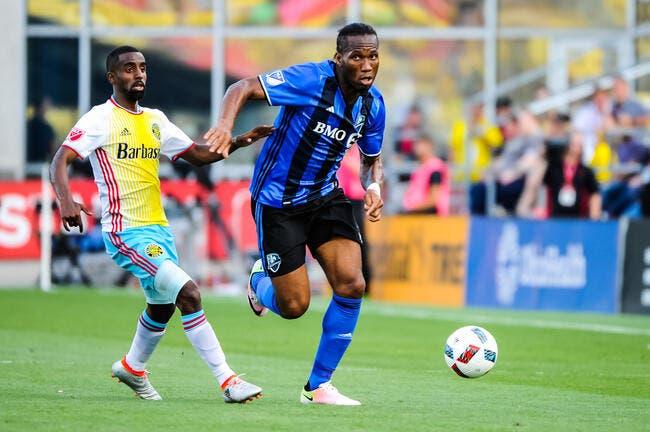 MLS : Drogba annonce son départ de Montréal