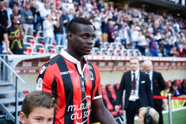 Nice : Absent contre Schalke 04, Balotelli forfait aussi contre Bastia