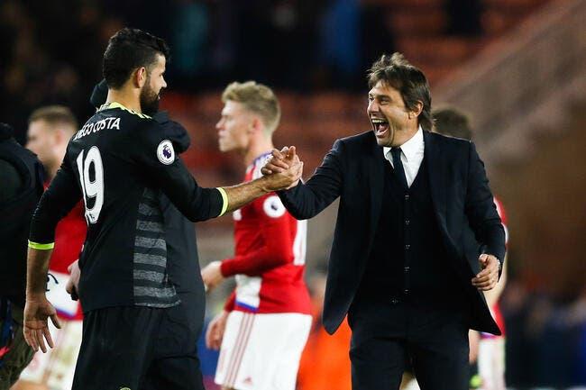Chelsea : Diego Costa a totalement retourné Antonio Conte