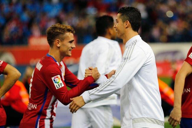 Griezmann se défend de faire une fixette sur Cristiano Ronaldo