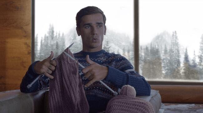 Vidéo : La preuve qu'Antoine Griezmann tricote vraiment de trop