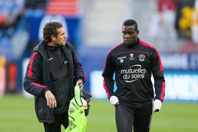 Nice : Balotelli, retour repoussé jusqu'au match face au PSG ?