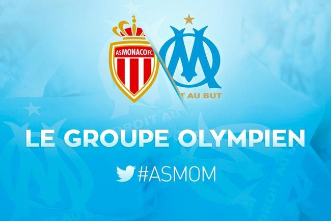 OM : Le groupe pour le match à Monaco