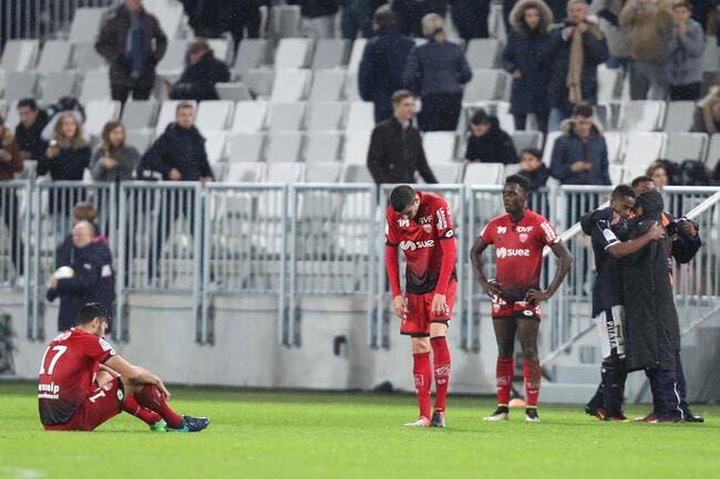 DFCO : C'est l'amer Dijon qui a perdu trois points