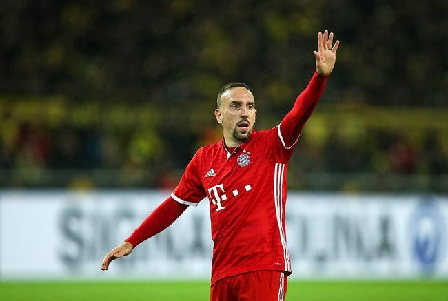 Officiel : Ribéry rempile d'une saison au Bayern Munich