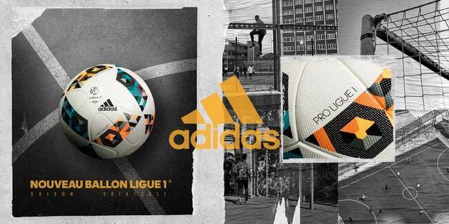 L1 : Adidas dévoile le ballon utilisé cet hiver