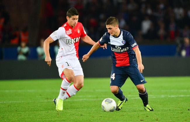 PSG : L'Inter rêve d'un package Verratti - James à 150 ME