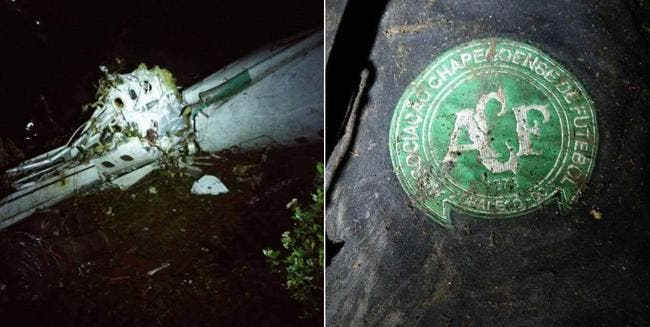 76 morts et 5 survivants dans le crash de l'avion transportant une équipe brésilienne