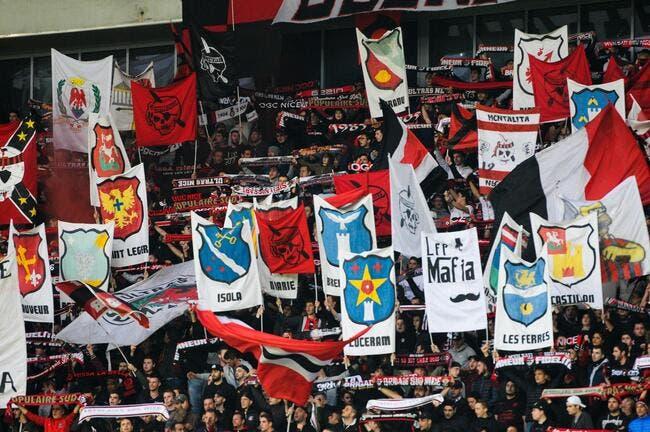 OGCN: Nice grandiose avec ses fans pour le match au PSG