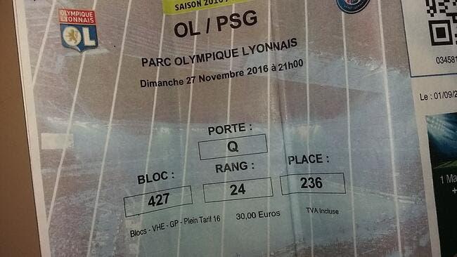 OL-PSG : Les escrocs aux faux billets identifiés, des victimes remboursés