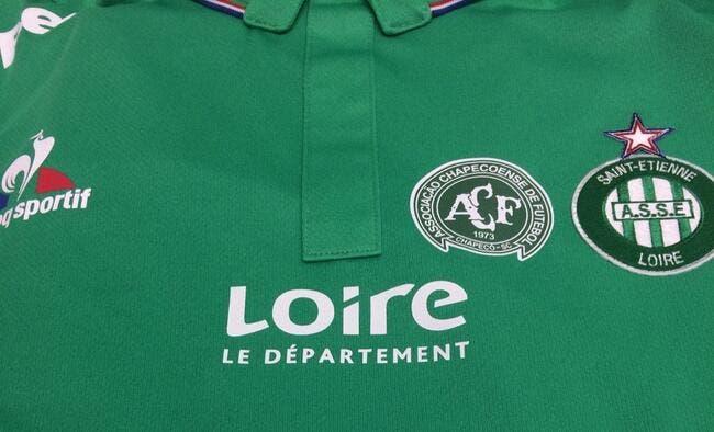 ASSE : Un maillot spécial contre l'OM pour rendre hommage à Chapecoense