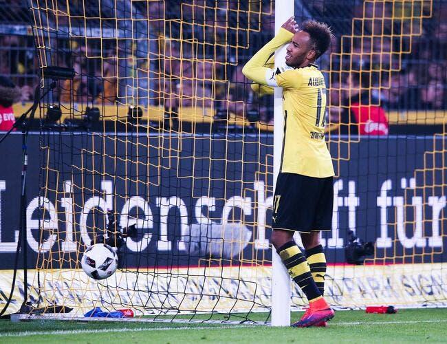 Dortmund: De nouveau pris en flag, Aubameyang risque gros