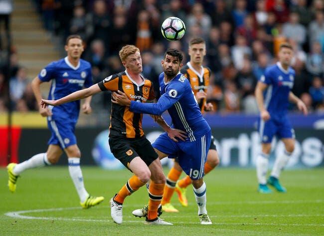Hull City - Chelsea : 0-2