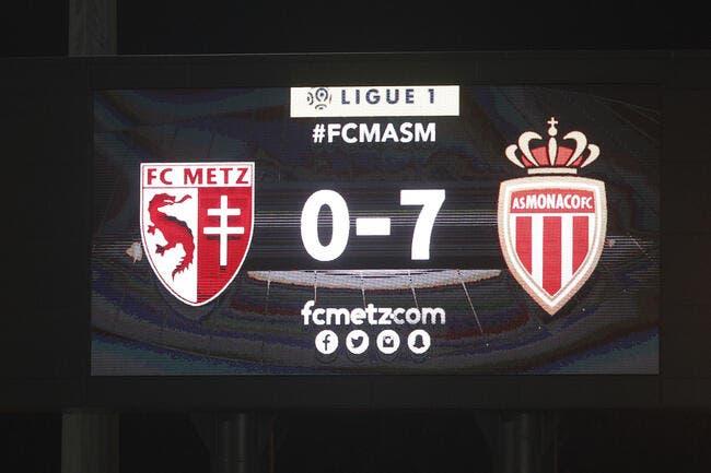 L1 : Pourquoi le 0-7 de Monaco à Metz est historique
