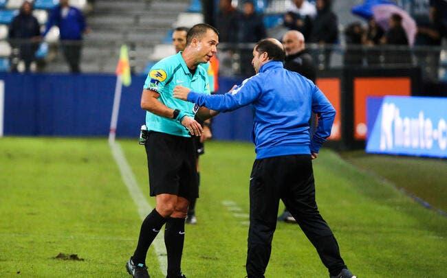 Nancy : Correa se « fait plier » et rejette la faute sur l'arbitre