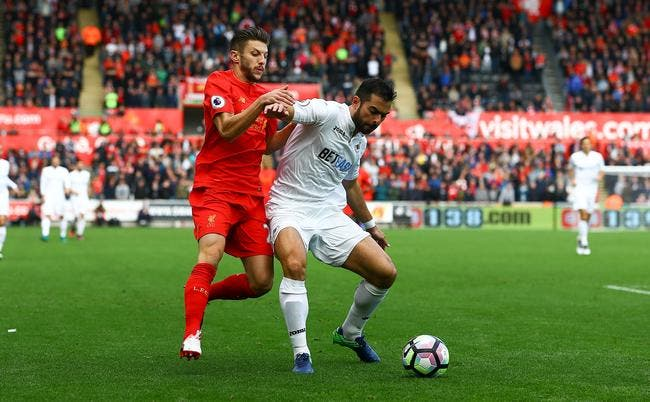 Swansea - Liverpool : 1-2